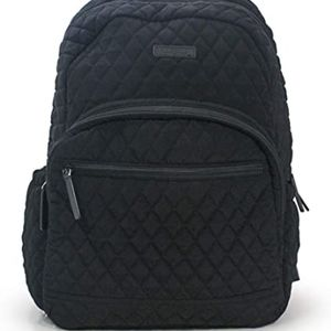Vera Bradley Quilted Essential Campus Backpack